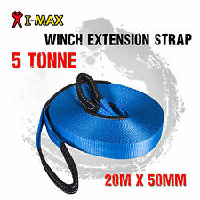 I-Max 4WD 4X4 Winch Recovery Extension Strap 5 Tonne 5000 KGS Offroad