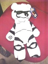 """Build-A-Bear 18"""" Star Wars White Stormtrooper The Force Awakens NEW UNSTUFFED"""