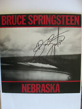 "BRUCE SPRINGSTEEN - AUTOGRAPHED ""NEBRASKA"" ALBUM - SOLO LP HAND SIGNED in 2004"