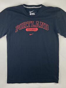 NIKE Portland Sea Dogs Minor League Baseball Center Check 2013 Shirt Mens Small