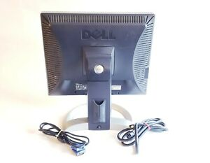 """Dell Ultrasharp 1905fp 19"""" LED LCD Computer Monitor VGA With Stand"""