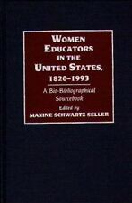 Women Educators in the United States, 1820-1993: A Bio-Bibliographical Sourceboo