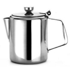 Zodiac Hinged Coffee Pot Teapot Milk Pot Stainless Steel Catering 1.5 Litre