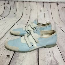 Prada Sport Women's  Sky Blue Athletic Walking Shoes Size 38 1/2