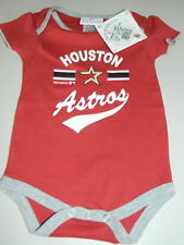 Houston Astros NEW MLB Baseball Creeper Infants 6 - 9