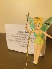 Disney Grolier Tinkerbell Porcelain ornament 2007 NEW RARE