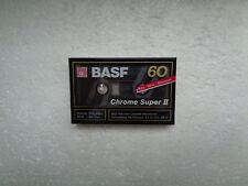 Vintage Audio Cassette BASF Chrome Super 60 * Rare From Germany 1989 *