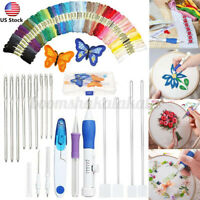71x Magic DIY Embroidery Pen Knitting Sewing Tool Kit Punch Needle Set +  ζ