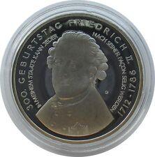 RFA 10 euro 2012,300. Anniversaire Friedrich II, spéculaire, argent