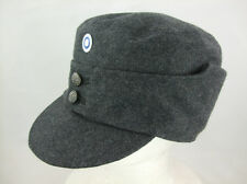 WW2 Finnish EM Soldier Wool Field Cap With Badge