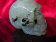 Crystal skull grape stone cs28