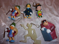 Charles Dickens A Christmas Carol Disney Key Chain Figures & Queen Lucy Peanuts
