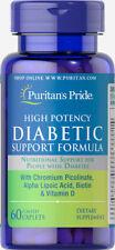 Puritan's Pride Diabetic Support Formula - 60 Caplets