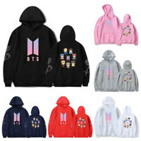KPOP BTS BT21 Bangtan Boys Hoodie Sweatshirt V JUNK KOOK JIMIN JHOPE Sweater