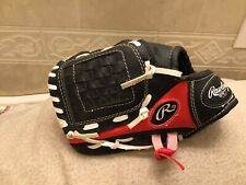 """Rawlings Youth PL-91SB 9"""" Baseball T-Ball Glove Left Hand Throw New Without Tags"""