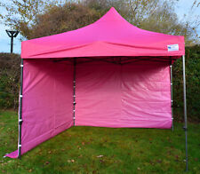 PINK Fire Retardant 3m x 3m Heavy Duty SHOWSTYLE Commercial Grade Gazebo
