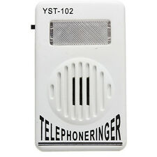 Cell Phone Ringer up to 95dB w/ Strobe Light Flasher Extra-Loud Ringer Bell