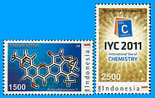 Indonesia Stamp, 2011 IND1101 INT Year of Chemistry, Logo