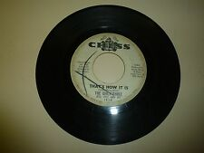 NORTHERN SOUL 45 RPM RECORD - THE GIRLS THREE - CHESS 1958 - PROMO