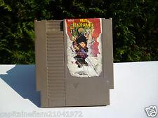 ♠ Jeu Nintendo NES Wrath Black Manta / 1985 Made in Japan ♠