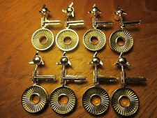 Mpc 1/24 Slot Car Chrome Spinners Hubs-Qty8 for Gto,Charger,Plymouth,Bonn eville