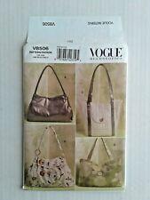 Vogue Accessories 8506 Bags  Sewing Pattern 4 styles  UNCUT OOP