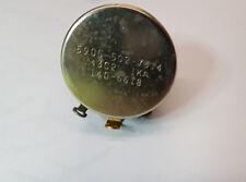 1K Ohm - 43C2 Locking Potentiometer - Clarostat Linear Taper Locking