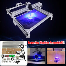 40*50cm Area 500mW Mini Laser Engraving Cutting Machine Printer Kit Desktop New