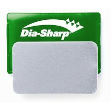 "DMT DiaSharp Diamond Card Sized Sharpener 3"" Extra Fine Grit Green Pouch D3E"