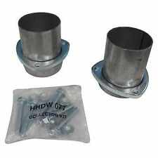 """Hedman Hedders 21154 3"""" Ball & Socket Style Aluminized Collector Flange Kit"""