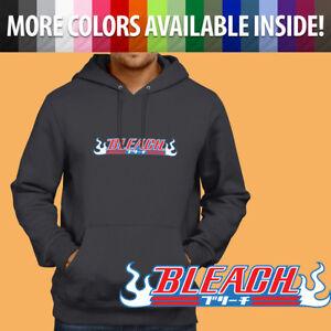 Pullover Sweatshirt Hoodie Sweater Gift Bleach Anime Manga Title Soul Reaper