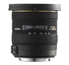 SIGMA 10-20 mm 3,5 EX DC HSM Weitwinkel Objektiv f. Nikon NEU