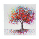 Framed Colorful Tree Abstract Canvas Print Art Painting Picture Decor 30cm