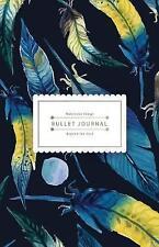 Bullet Journal Beyond the Soul: Blue Watercolor Bird Feather Journal - 130...