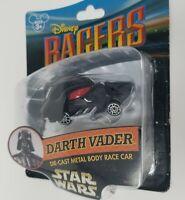 Disney Parks Racers Star Wars Darth Vader Die-Cast Metal Body Race Car