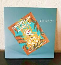 GUCCI Snowman in Africa UNICEF COLLECTION 2009 Brochure Pamphlet Catalog New