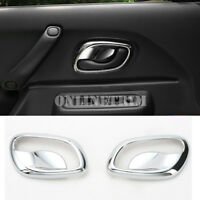 ABS Chrome Car Door Handle Bowl Cover Trim 2pcs For Suzuki Jimny 2007-2017