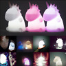 Colorfaul Cute Kids LED Night Light Bedroom Cartoon Animal Home Decor Wall Lamp