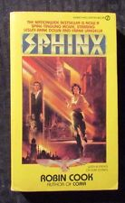 1980 SPHINX by Robin Cook 1st Signet  Paperback FVF TV Tie-In