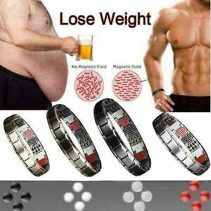 1X Magnetic Health Slimming Bracelet Therapy Weight Loss Bloods Circulation UK