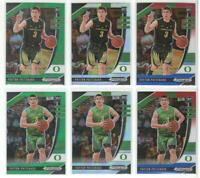 x6 Different PAYTON PRITCHARD 2020-21 All Refractor Prizm Draft lot/set Celtics!