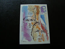 FRANCE - carte 1er jour 24/2/1990 (charles de gaulle) (cy45) french