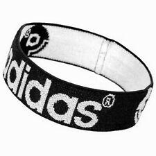 Adidas Logo Schweißband Stirnband Wristband Kopfband Sport schwarz Unisex Da.He.