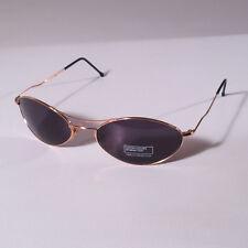 Occhiali da sole Benetton A41 100 metallo oro, lenti Brown