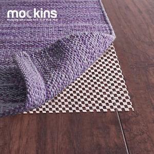 Mockins Premium Grip and Non Slip Rug Pad 6 x 9 feet Area Rug Pad Easy to Cut