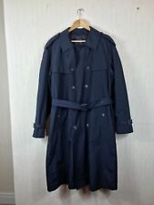 Vintage Mens CANDA made for C&A Maxi Full Length Mac Trench Coat Size M