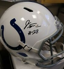 Jonathan Taylor signed Colts Speed full size Helmet Fanatics Badgers Wisconsin