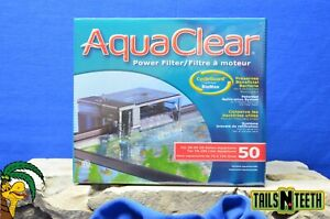 Aquaclear Power Filter for 20-50 US Gallon Aquariums - w CycleGuard BioMax Media