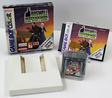 Nintendo Game Boy Color GBC - Roswell Conspiracies Aliens, Myths Anleitung + OVP