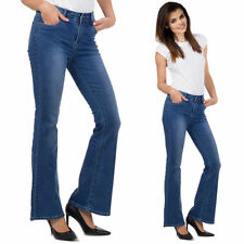 Unbranded Bootcut Mid Rise Denim Jeans for Women